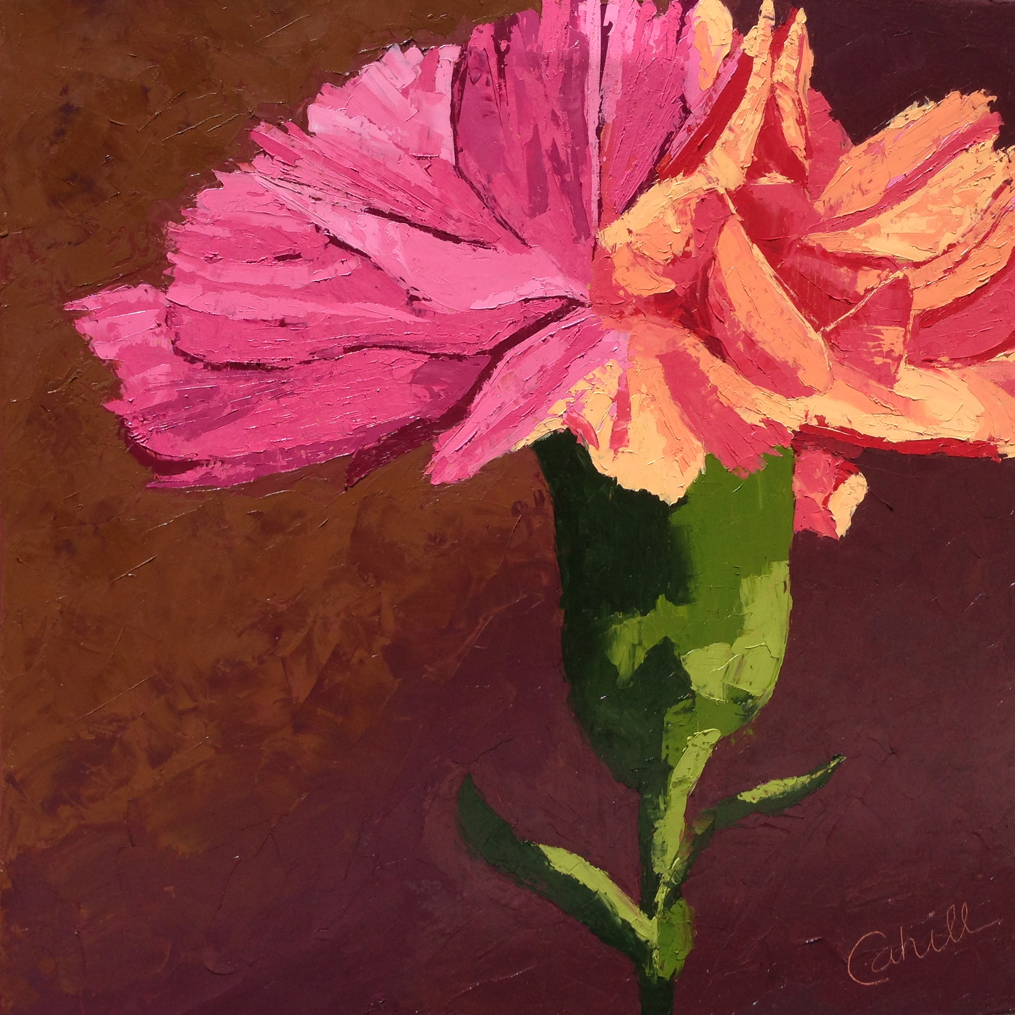 Carnation Flower Painting